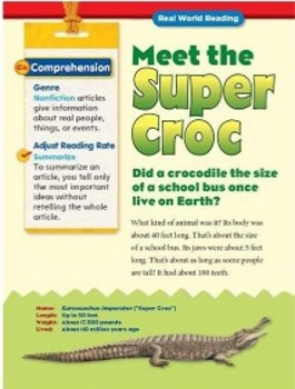 Treasures-Meet the Super Croc