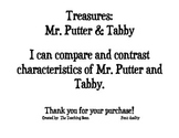Treasures: Mr. Putter & Tabby Compare & Contrast