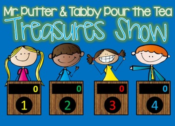 Treasures Mr. Putter & Tabby Pour the Tea GAME SHOW - interactive powerpoint