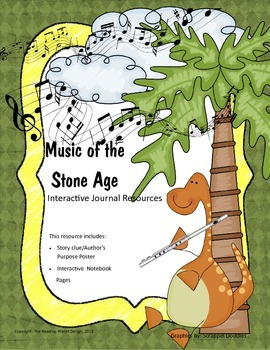 Treasures - Music of the Stone Age (Interactive Journal and Posters)