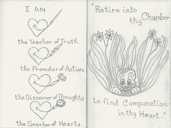 Treasures Of The Heart VI – 'A' Sketch EBook & Printouts