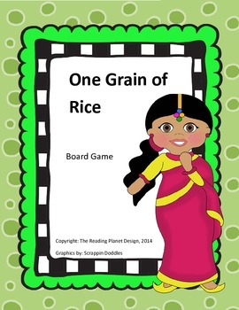 Treasures One Grain of Rice Board Game
