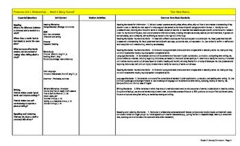 Treasures Reading Program - Curriculum Maps - EDITABLE - Grade 2
