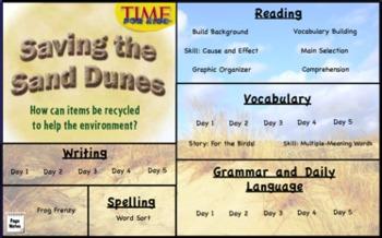 Treasures Reading 3rd Grade Unit 3 Flipcharts Bundle