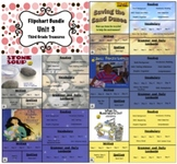 Treasures Reading 3rd Grade Unit 3 Flipcharts Bundle