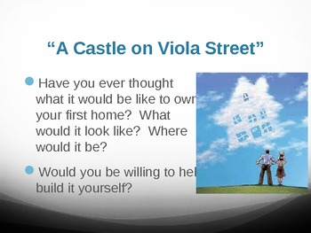 "Treasures Reading - ""A Castle on Viola Street"" Vocabulary & Spelling"