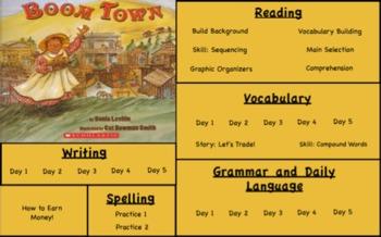 Treasures Reading- Boom Town Unit 5 Week 1 Flipchart Third Grade
