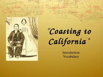 "Treasures Reading - ""Coasting to California"" - Vocabulary & Spelling"