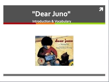 "Treasures Reading - ""Dear Juno"" - Vocabulary and Spelling"