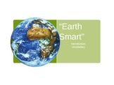 "Treasures Reading -""Earth Smart"" - Vocabulary & Spelling"