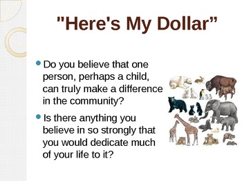 """Treasures Reading - """"Here's My Dollar"""" - Vocabulary and Spelling"""