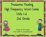 2nd Grade Treasures Reading High Frequency Word Cards