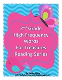 Treasures Reading Resources - High Frequency Word Cards for 2nd Grade