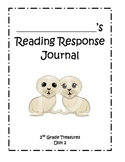 Treasures Reading Response Journals Unit 2-6