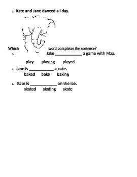 Treasures Reading Series 1st Grade 3.1 Kates Game Packet