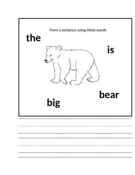 Treasures Reading Series 1st Grade Smart Start Week 3 Packet