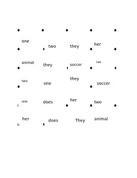 Treasures Reading Series 1st Grade Unit 2.1 Animal Moms and Dads Vocab Game