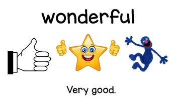 2nd Grade *Treasures Reading Series 2011* Vocabulary Cards *Unit 1 BUNDLE*