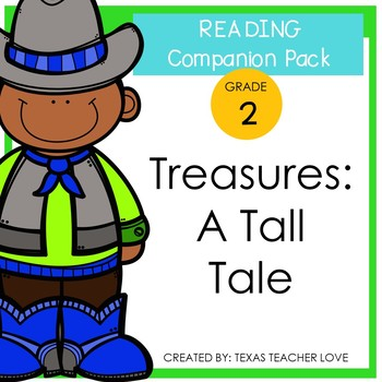 Treasures Reading Series: A Tall Tale Companion Pack