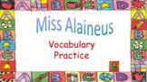 Treasures Reading Series – Vocabulary PowerPoints Grade 5 Unit 1