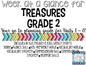 Treasures Reading Series - Week at a Glance