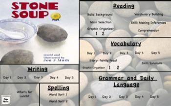 Treasures Reading- Stone Soup Unit 3 Week 1 Flipchart Third Grade