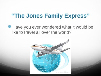 "Treasures Reading - ""The Jones Family Express"" Vocabulary & Spellling"