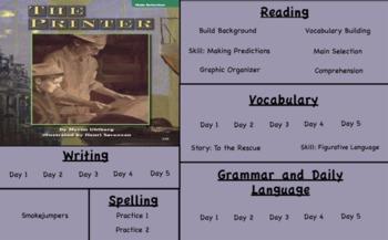 Treasures Reading- The Printer Unit 5 Week 4 Flipchart Third Grade