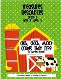 Treasures Resource Packet- Grade 2- Unit 3 Week 5 (Click, Clack, Moo) 2007