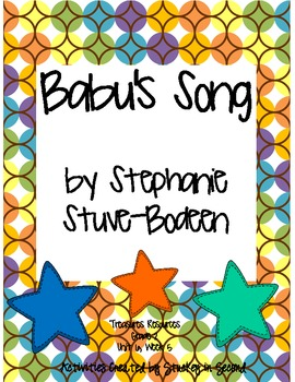 Treasures Resources 2007-Babu's Song, Grade 2, Unit 6, Week 5