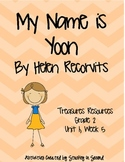 Treasures Resources 2007-My Name is Yoon-Grade 2, Unit 1, Week 5