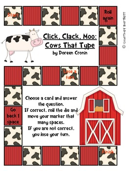 """Treasures Resources for """"Click, Clack, Moo: Cows that Type"""" (2.3.5)"""