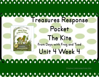 Treasures Response Packet Grade 1-- Unit 4 Week 4 -- The Kite
