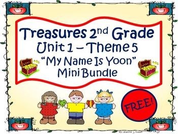 """Treasures Second Grade Unit 1 """"My Name is Yoon"""""""