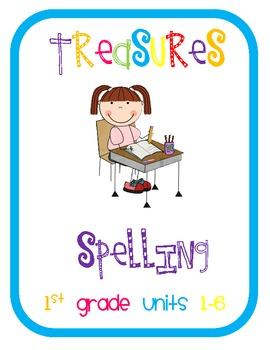 Treasures Spelling Grade 1