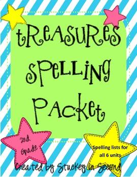 Treasures Spelling Packet (2nd Grade) 2007 Edition