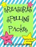 Treasures Spelling Packet (2nd Grade) 2007 Edition