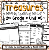 Treasures Spelling Word Lists and Resources --- 2nd Grade (Unit #5)