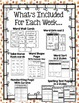 Treasures Spelling Word Lists and Resources --- 2nd Grade (Unit #6)