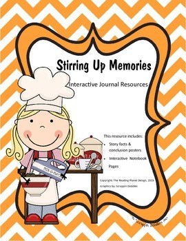 Treasures - Stirring Up Memories (Interactive Journal and Posters)