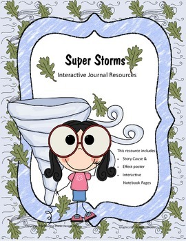 Treasures - Super Storms (Interactive Journal and Posters)
