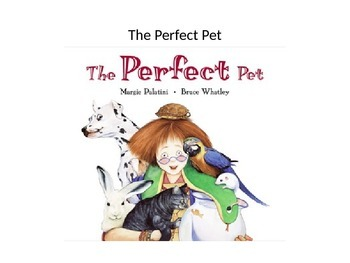 Treasures The Perfect Pet Vocabulary PowerPoint