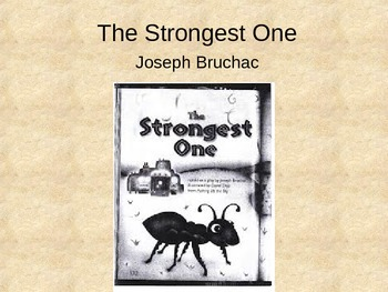 Treasures The Strongest One Vocabulary PowerPoint