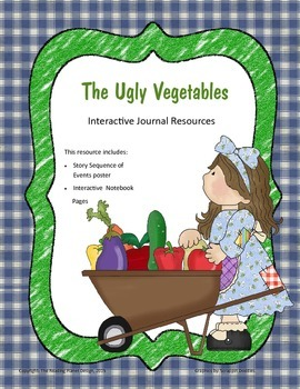 Treasures - The Ugly Vegetables (Interactive Journal and Posters)