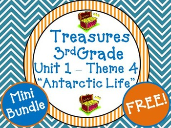 "Treasures 3rd Grade Unit 1 ""Antarctic Life"" Supplemental Resource"