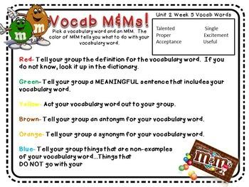 Treasures Third Grade Unit 2 Week 5 Author True Story FOUR Vocabulary Games