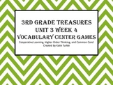 Treasures Third Grade Vocab Unit 3 Week 4 Jones Family Express Center Games