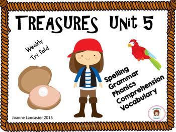 Treasures Tri fold Unit 5