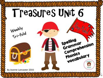 Treasures Tri fold Unit 6