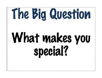 Treasures Unit 1 Big Ideas